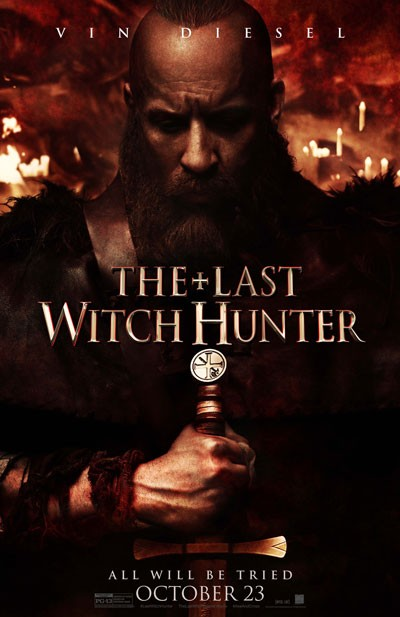 Last Witch Hunter Vin Diesel Poster