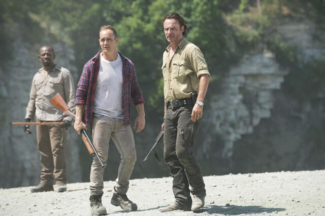 Walking Dead Andrew Lincoln, Ethan Embry, Lennie James Photo