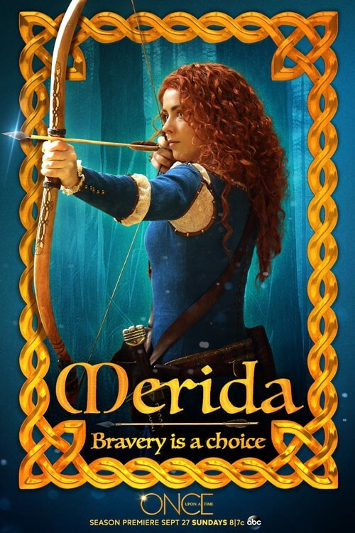 Once Upon a Time Merida Poster