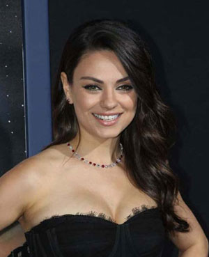 Mila Kunis Smiling Photo
