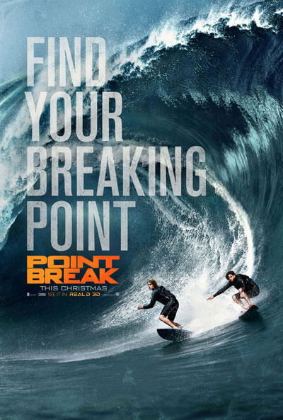 Point Break Surfing Featurette and New Poster