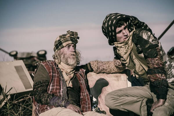 Russell Hodkinson and Nat Zang Z Nation Photo