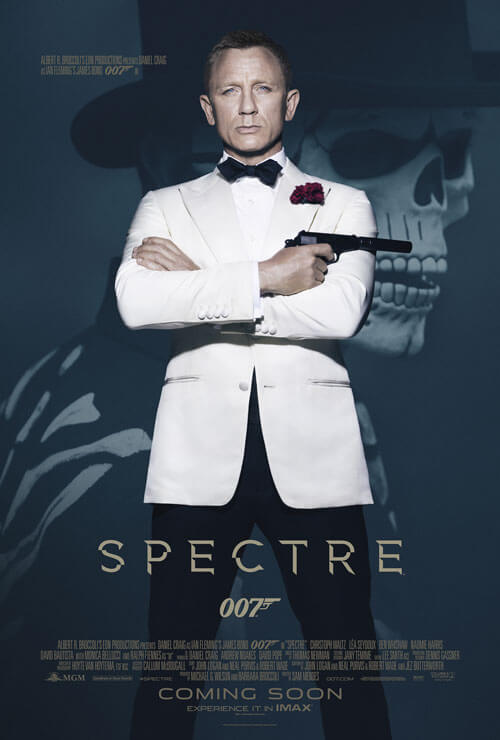 Spectre New Poster with Daniel Craig
