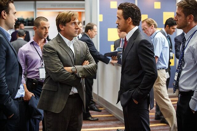 Steve Carell, Ryan Gosling The Big Short Photo