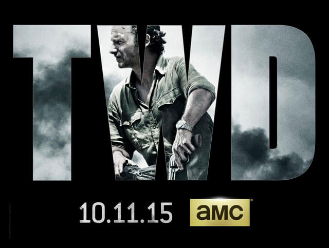 The Walking Dead Season 6 New Poster with Andrew Lincoln