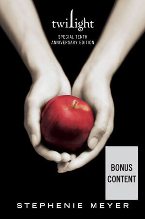 Twilight 10th Anniversary Book Cover