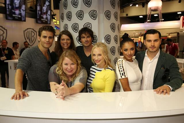 Vampire Diaries Season 7 Cast Photo
