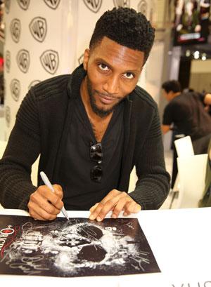 Yusuf Gatewood Comic Con Photo