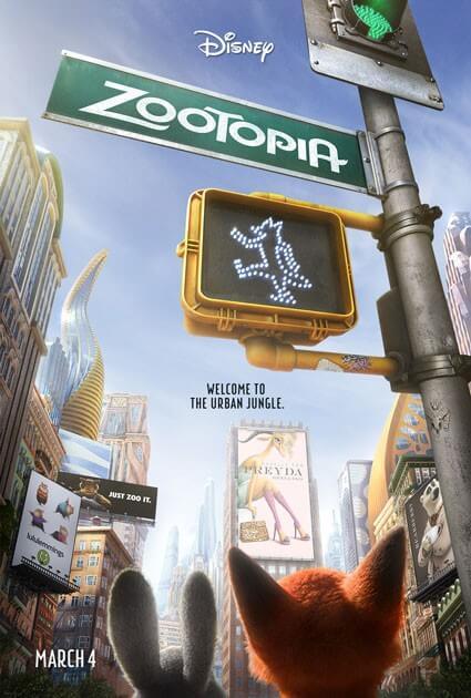 Zootopia Movie New Poster
