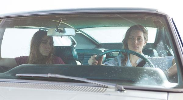 Zosia Mamet and Jessica Biel in 'Bleeding Heart'