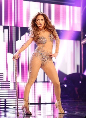 Jennifer Lopez American Music Awards Performance