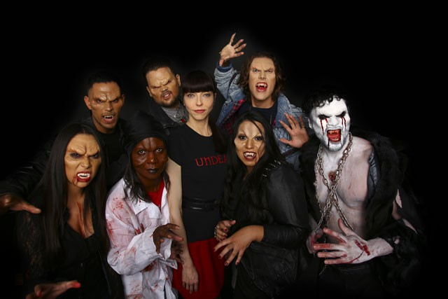 Juliette Landau with Vampires