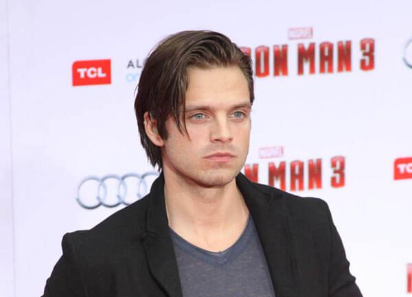 Sebastian Stan Iron Man 3 Red Carpet