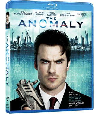 The Anomaly Ian Somerhalder Blu Ray Cover