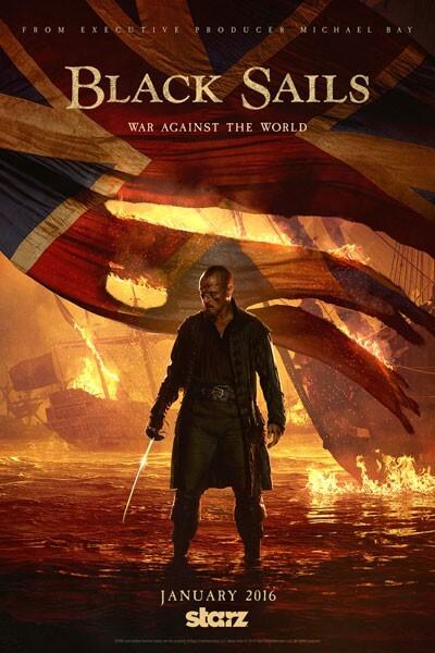 Black Sails Season 3 Poster