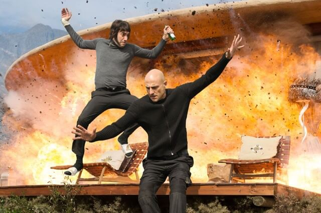 Brothers Grimsby Sacha Baron Cohen Mark Strong