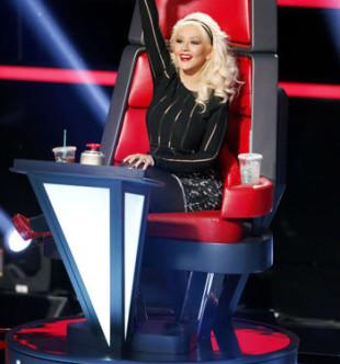 The Voice Christina Aguilera Coach