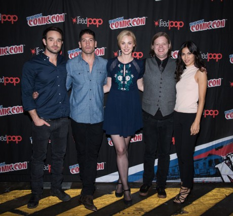 Daredevil Cast at NY Comic Con
