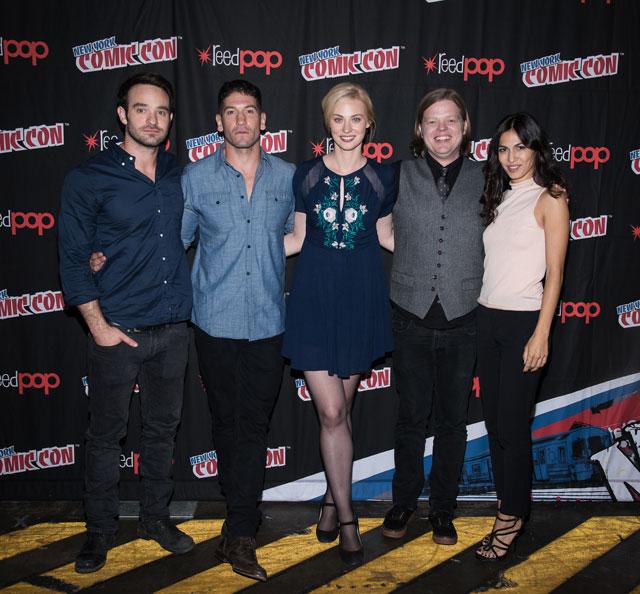 Daredevil Cast at NY Comic Con