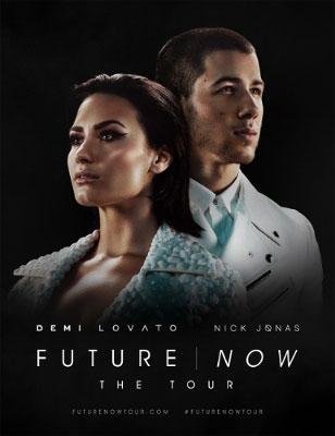 Demi Lovato Nick Jonas Tour Poster