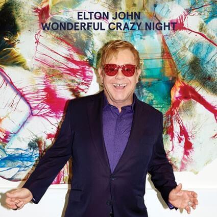 Elton John Wonderful Crazy Night Cover