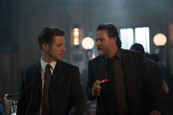 Ben McKenzie and Donal Logue in 'Gotham' (Photo © 2015 Fox )