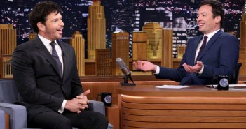 Harry Connick Jr and Jimmy Fallon