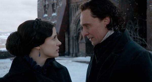 Crimson Peak Jessica Chastain Tom Hiddleston