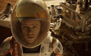 Matt Damon The Martian Astronaut Scene