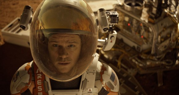 Matt Damon The Martian Astronaut Scene