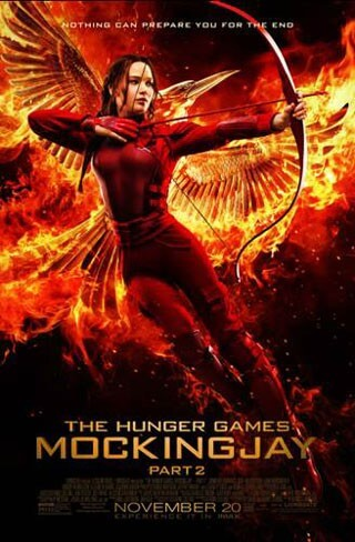 Hunger Games Mockingjay 2 Katniss Poster