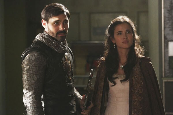 Liam Garrigan Joana Metrass in Once Upon a Time