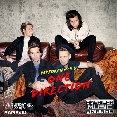 One Direction 2015 AMAs