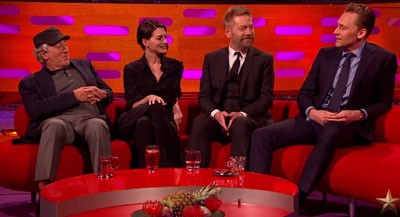 Robert De Niro, Anne Hathaway, Kenneth Branagh, and Tom Hiddleston