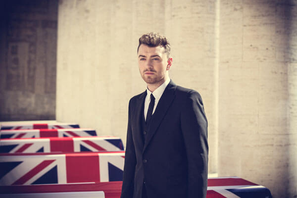 Sam Smith Writing's On The Wall Video Shoot