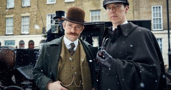 Martin Freeman Benedict Cumberbatch Sherlock The Abominable Bride