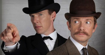 Sherlock Special Benedict Cumberbatch and Martin Freeman