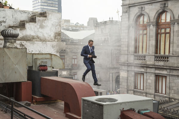 Daniel Craig as Bond in Spectre