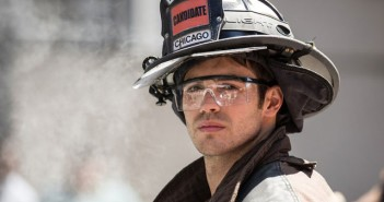 Steven R McQueen in Chicago Fire