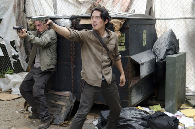 Steven Yeun Michael Traynor Walking Dead Season 6