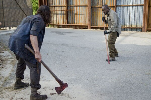 Walking Dead Lance Tafelski and Lennie James