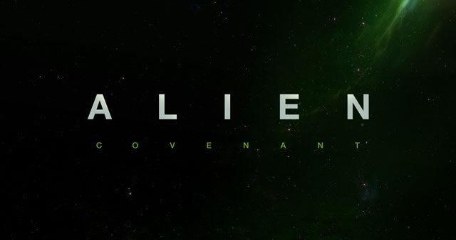 Alien Covenant Title Treatment