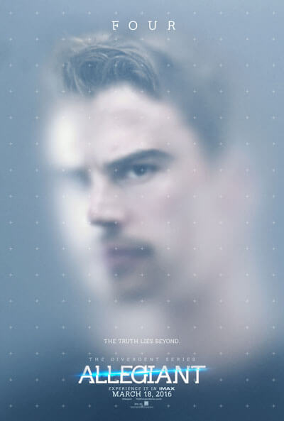 Divergent Allegiant Four Poster with Theo James