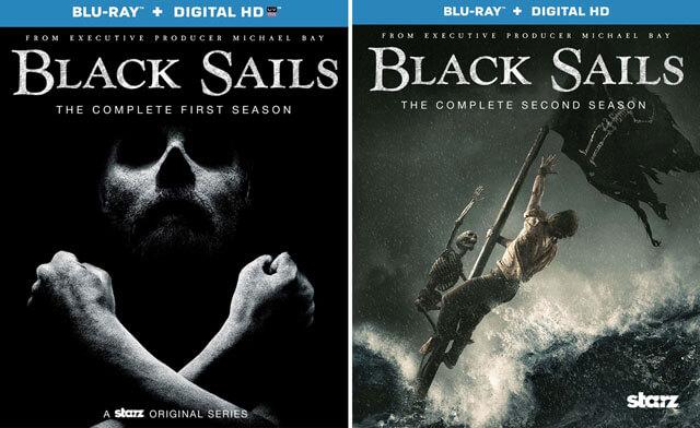 Black Sails Seasons 1 and 2 Blu-ray
