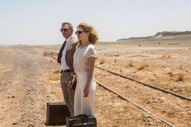 Daniel Craig Lea Seydoux in Spectre