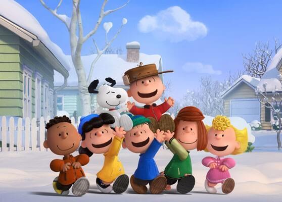 The Peanuts Movie Charlie Brown, Snoopy, Linus