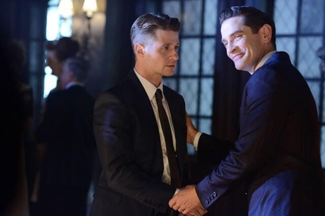 Gotham Season 2 Episode 7 Ben McKenzie James Frain