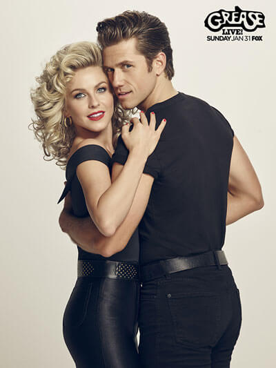 Grease Live Julianne Hough Aaron Tveit Poster