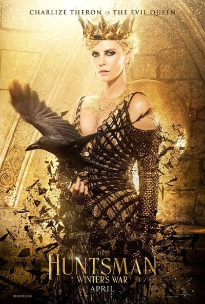 The Huntsman Winter's War Charlize Theron Poster