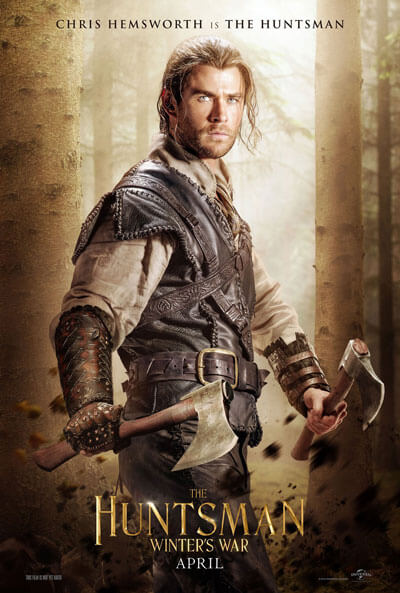 The Huntsman Chris Hemsworth Poster